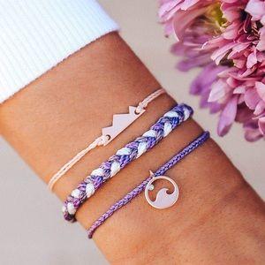 Pura Vida Mountain Bracelet Set